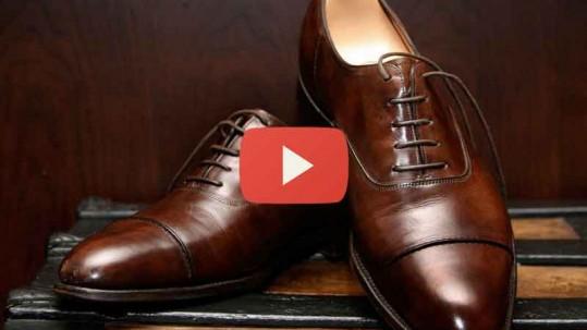 cuidar dos sapatos